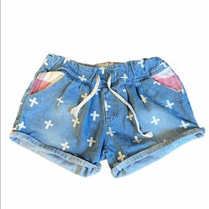 GUC Vintage High Rise Jeans Shorts Size Large